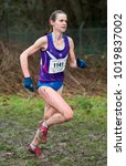 Small photo of Joanne Hickman Dunne, Loughborough University competing in the BUCS (British Universities & Colleges Sport) Cross Country Championships, Hillingdon House Farm Ground, Uxbridge, London, UK - 3 Feb 2018