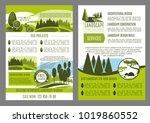 landscape design company... | Shutterstock .eps vector #1019860552