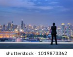vision concept. successful... | Shutterstock . vector #1019873362