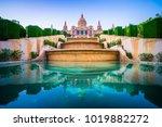 national museum  in barcelona ... | Shutterstock . vector #1019882272