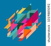 minimalistic design  creative... | Shutterstock .eps vector #1019885092
