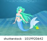 illustration of a beautiful...   Shutterstock .eps vector #1019920642