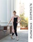 young graceful ballerina...   Shutterstock . vector #1019924176