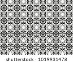ornament with elements of black ... | Shutterstock . vector #1019931478