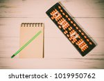 mental arithmetic background | Shutterstock . vector #1019950762