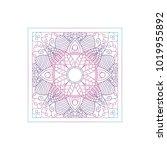 mandala texture abstract... | Shutterstock .eps vector #1019955892