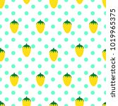seamless pattern with... | Shutterstock .eps vector #1019965375