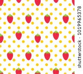 seamless pattern with... | Shutterstock .eps vector #1019965378
