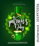 st. patrick's day  green... | Shutterstock .eps vector #1019970556