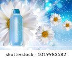 design cosmetics product ... | Shutterstock . vector #1019983582