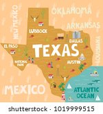 illustrated map of the state of ...   Shutterstock .eps vector #1019999515
