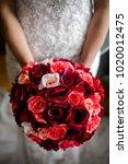 beautiful wedding bouquet in...   Shutterstock . vector #1020012475