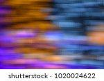 bokeh glittering holiday... | Shutterstock . vector #1020024622