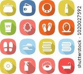 flat vector icon set   purse... | Shutterstock .eps vector #1020027592