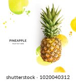 creative layout made of... | Shutterstock . vector #1020040312