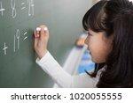 japanese elementary school... | Shutterstock . vector #1020055555