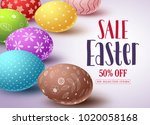 Easter Sale Vector Banner...