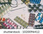 medical healthcare concept | Shutterstock . vector #1020096412