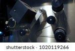 telecine machine semi analog...   Shutterstock . vector #1020119266