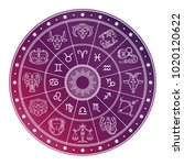 bright and white astrology... | Shutterstock .eps vector #1020120622