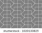 design seamless monochrome... | Shutterstock .eps vector #1020133825