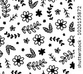 seamless childish pattern.... | Shutterstock .eps vector #1020155872