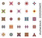 seamless patterns background... | Shutterstock .eps vector #1020203605