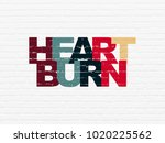 healthcare concept  painted... | Shutterstock . vector #1020225562