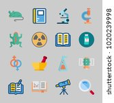 icons about science with...   Shutterstock .eps vector #1020239998