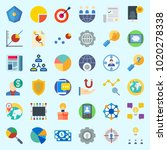 icons about marketing with...   Shutterstock .eps vector #1020278338