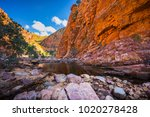 ormiston pound  northern... | Shutterstock . vector #1020278428