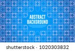 abstract blue triangle... | Shutterstock .eps vector #1020303832