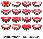vector illustration. heart... | Shutterstock .eps vector #1020307936