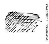 grunge ink pen stroke | Shutterstock .eps vector #1020335965