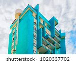 residential apartment flat... | Shutterstock . vector #1020337702
