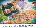 holland  amsterdam background | Shutterstock . vector #1020342556