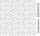 vector seamless pattern. modern ... | Shutterstock .eps vector #1020345142