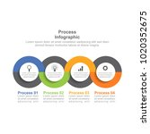 infographic design template... | Shutterstock .eps vector #1020352675