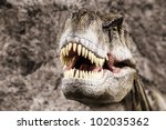 Постер, плакат: Tyrannosaurus prehistoric era