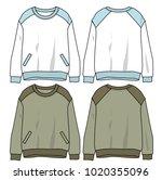 lady long sleeve vector | Shutterstock .eps vector #1020355096