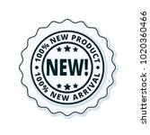 new product new arrival label...   Shutterstock .eps vector #1020360466