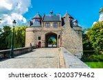 ezelpoort  donkey's gate  ... | Shutterstock . vector #1020379462