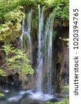 plitvice lakes national park ... | Shutterstock . vector #1020394765