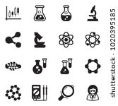 solid black vector icon set  ... | Shutterstock .eps vector #1020395185