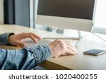 close up business man top view... | Shutterstock . vector #1020400255