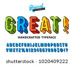 """great"" vintage 3d rounded... 