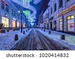 rostov on don  russia   january ... | Shutterstock . vector #1020414832