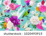 boho seamless pattern | Shutterstock .eps vector #1020493915