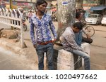 delhi  india   october 25 2014  ... | Shutterstock . vector #1020497662