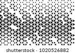 vector pattern triangle  | Shutterstock .eps vector #1020526882
